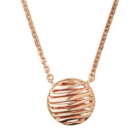 Links Of London Thames Rose Gold Necklace ~ 5020.3250