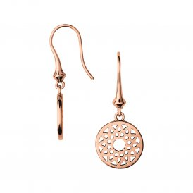 Links Of London Timeless Drop Earrings - Small - Rose Gold ~ 5040.2580