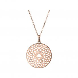 Links Of London Timeless Rose Gold Large Necklace ~ 5024.1410