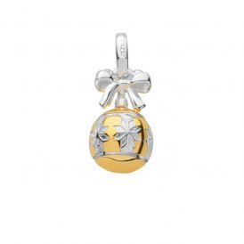 Links Of London Xmas Star Bauble Charm ~ 5030.2547