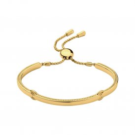 Links Of London Yellow Gold Vermeil Narrative Bracelet