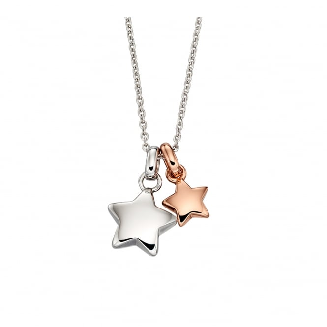 Little Star Suki Necklace - Silver/Rose Gold ~ LSN0120
