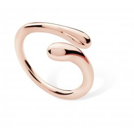 Lucy Q Open Drip Rose Gold Ring N ~ DR5RM