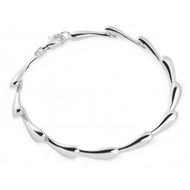 Lucy Q Silver Continual Drip Bracelet ~ DB2