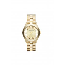 Marc Jacobs Henry Skeleton Gold Ladies Watch ~ MBM3292