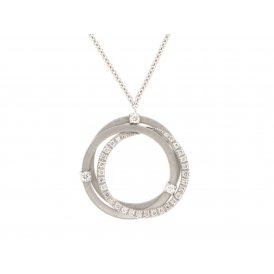 Marco Bicego Goa Necklace - White Gold/Diamond ~ CG674-B2-W