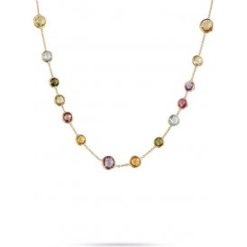 Marco Bicego Jaipur Gold Mixed Stone Necklace ~ CB1304-MIX01-Y