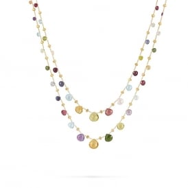 Marco Bicego Paradise Mixed Stone Necklace ~ CB1871-MIX01-Y