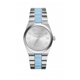 Michael Kors Channing Silver-Tone Acetate Watch MK6150