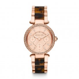 Michael Kors Parker Rose Gold Ladies Watch ~ MK5841