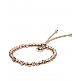 Michael Kors Rose Gold Bead Stretch Bracelet MKJ1973791