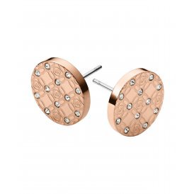 Michael Kors Rose Monogram Ear Studs MKJ4277791