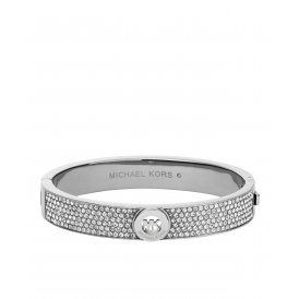 Michael Kors Silver Fulton Bangle ~ MKJ3999040