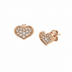 Nomination Angel Love Earrings Rose Gold ~ 145384/011