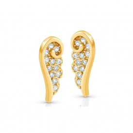 Nomination Angel Wing Gold Earrings ~ 145323/012