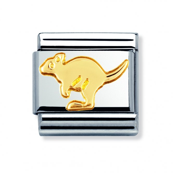 Nomination Composable Gold Kangaroo Link