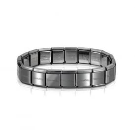 Nomination Composable Gunmetal BIG Starter Bracelet 20cm