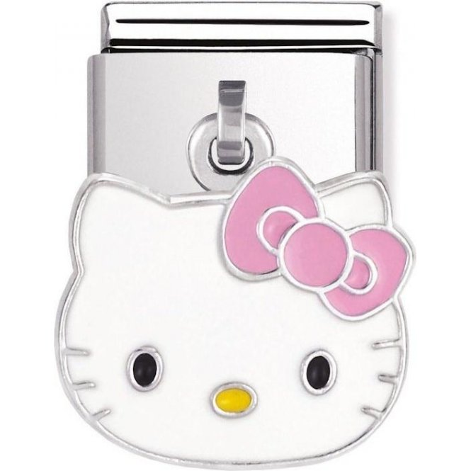 Nomination Composable Silver Hello Kitty Bow Link ~ 031780/02