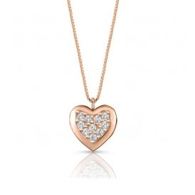 Nomination Gioie Rose Gold Heart Necklace ~ 150201/001