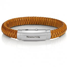 Nomination Safari Hazelnut Woven Bracelet ~ 025701/014