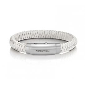 Nomination Safari White Woven Bracelet ~ 025701/000