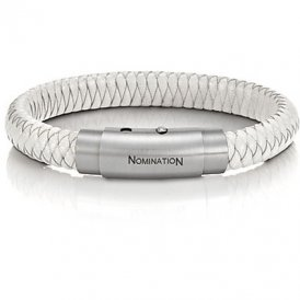 Nomination Safari White Woven Bracelet ~ 025703/000
