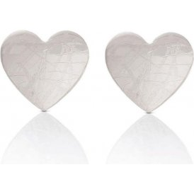 Nomination Silver Elba Heart Earrings ~ 142530/001