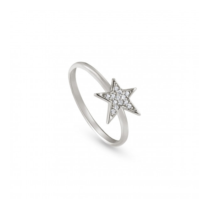 Nomination Stella Star Ring - Silver - Size Q.5 ~ 146700/010/027