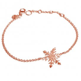 Rachel Galley Snowflake Bracelet Rose Gold ~ SF200-RG