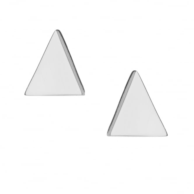 Rachel Galley Trinity Stud Earrings - Silver ~ T402-SV