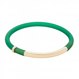 Sarah Ho POP! Bracelet in Classic Large - Bottle Green