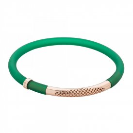 Sarah Ho POP! Bracelet in Mirage Medium - Bottle Green