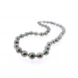 8-10mm Tahitian Pearl Necklace ~ TAHITIANNECK