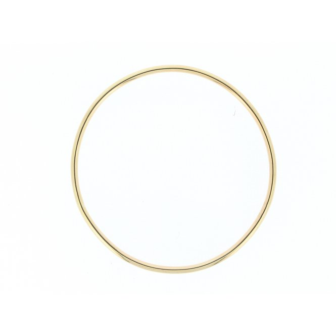 Sarah Layton 9ct Yellow Gold Bangle ~ SLB-YG-B-001