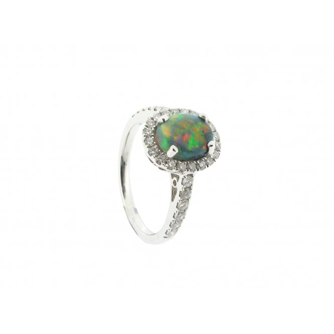 Sarah Layton Opal & Diamond Ring ~ RX7012V1