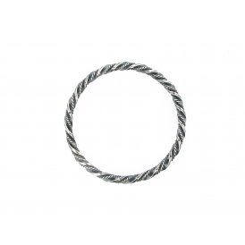 Sarah Layton Oxidised Silver Bangle ~ SLB-SIL-B-001