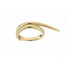 Shaun Leane Feather Wrap Ring Gold M ~ SLS686GP