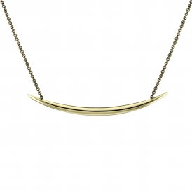 Shaun Leane Quill Necklace - Yellow Gold Vermeil ~ SLS565GP