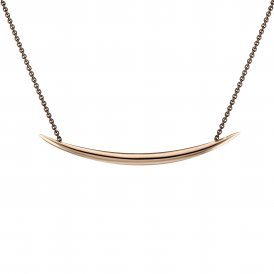 Shaun Leane Rose Gold Vermeil Quill Necklace