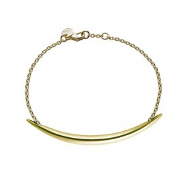 Shaun Leane Silver and Gold Vermeil Quill Bracelet