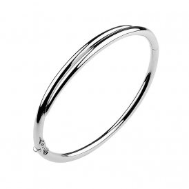 Shaun Leane Silver Feather Cuff Bangle