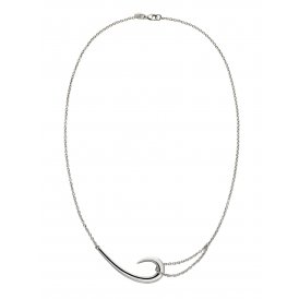 Shaun Leane Silver Hook Necklace ~ SLS482