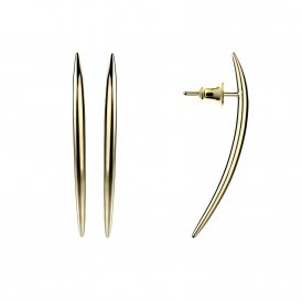 Shaun Leane Small Quill Earrings - Yellow Gold Vermeil ~ SLS570GP