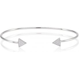 Sif Jakobs Panzano Bangle Large ~ SJ-B0095-CZ/L