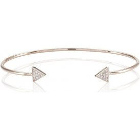Sif Jakobs Panzano Rose Bangle Large ~ SJ-B0095-CZ(RG)/L