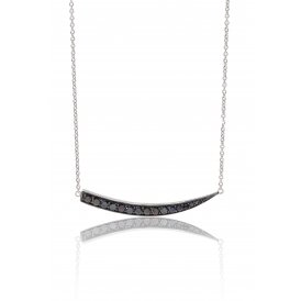Sif Jakobs Pila Grande Black Necklace ~ SJ-C1012-BK