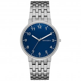Skagen Ancher Steel Link Gents Watch SKW6201