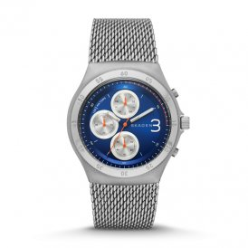 Skagen Gents Jannik Titanium and Steel Mesh Chronograph SKW6154