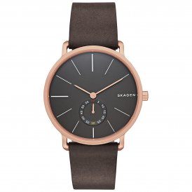 Skagen Hagen Leather Gents Watch SKW6213