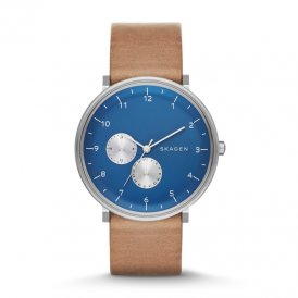 Skagen Hald Leather Multifunction Gents Watch SKW6167